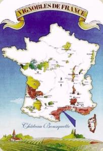 Languedoc-Rousillon map